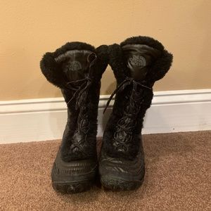 North Face Winter Boots (Black)